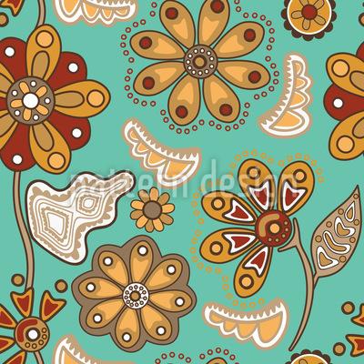 Blumenzauber Sankt Petersburg Vektor Design