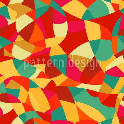 Abstrakter Expressionismus Musterdesign