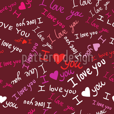 Love Confessions Vector Ornament