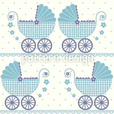 Baby Timmys Buggy Seamless Pattern