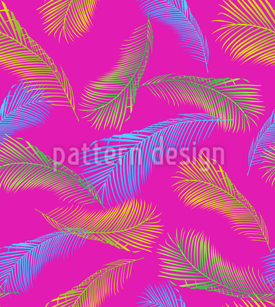 Palm Leaf Avant Garde Pattern Design