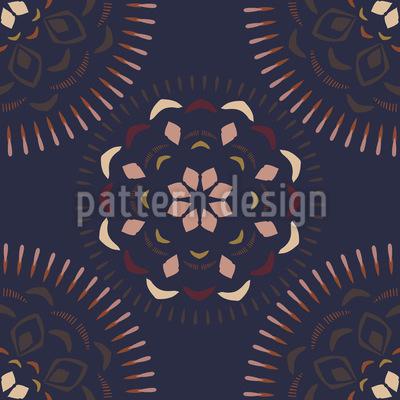 Ceylon Mandala Pattern Design