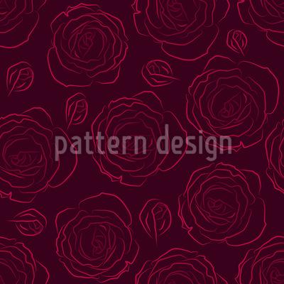 Ihre Geliebten Rosen Musterdesign
