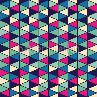 Triangel Fantasie Nahtloses Muster