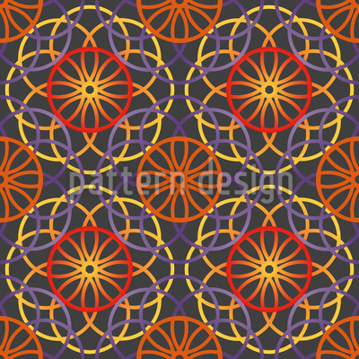 Rise Of The Spirals Pattern Design