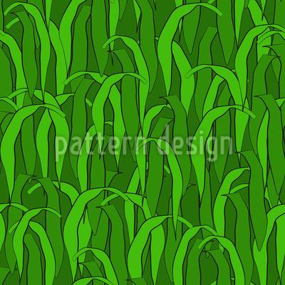 Im Grünen Gras Nahtloses Vektor Muster