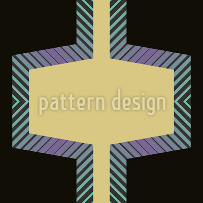 Hexagon Factory Seamless Pattern
