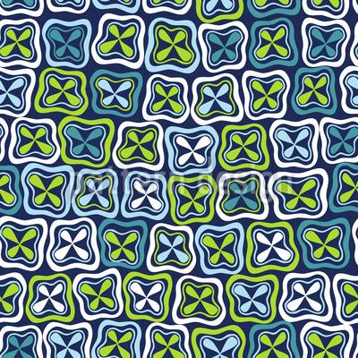 Frisches Crossover Mosaik Muster Design
