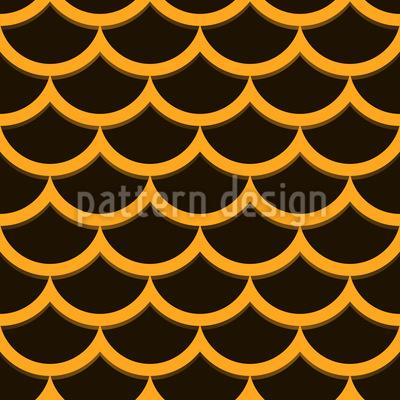 The Sequin Samurai Seamless Pattern