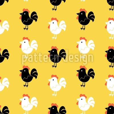 Cock A Doodle Doo Design Pattern