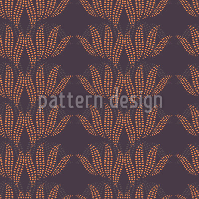 Dotty Leaves Pattern Design