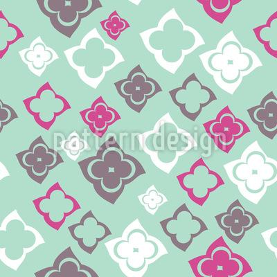 Sweet Vintage Flowers Vector Pattern