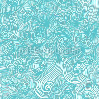 Glorious Waves Repeat Pattern