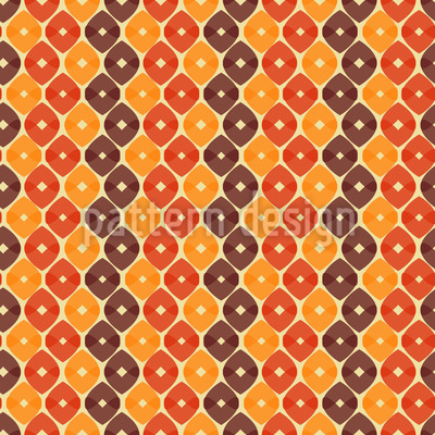 Snakeskin In Autumn Repeat Pattern