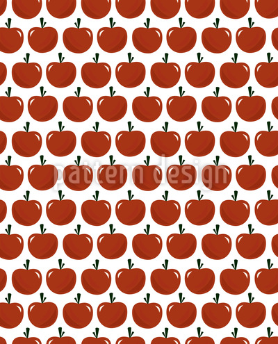 Apple Or Tomatoe Repeat Pattern