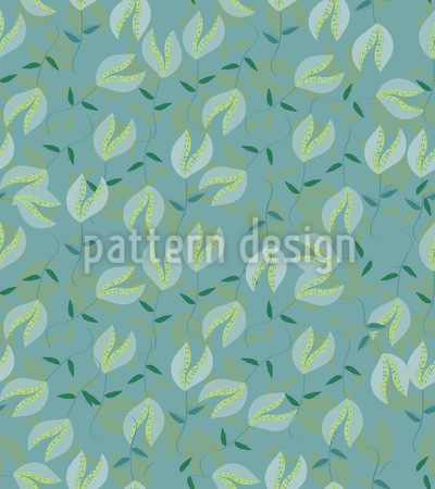 Moonshine Flowers Pattern Design