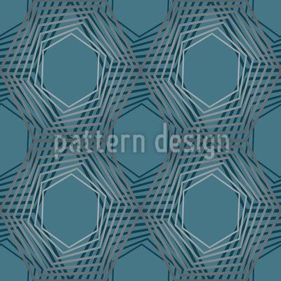 Netzwerk Geometrie Designmuster