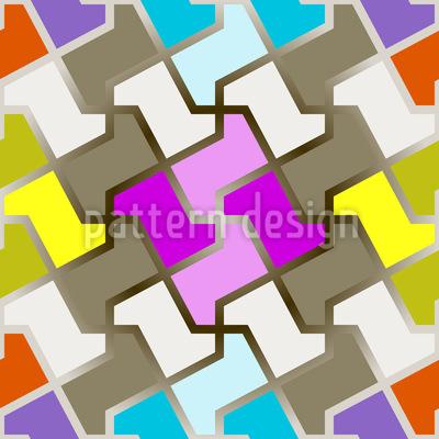 Lustiges Puzzle Vektor Design