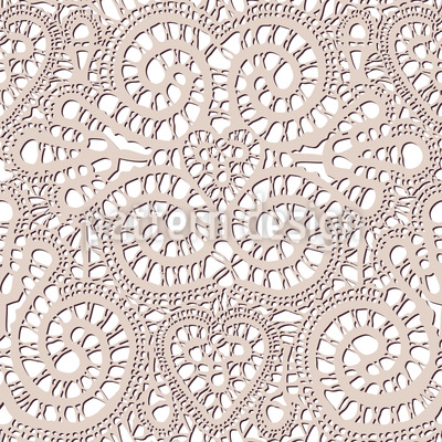 Lace Romance Repeating Pattern