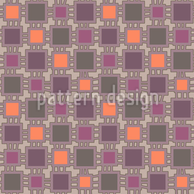 Loom Patchwork Pattern Design