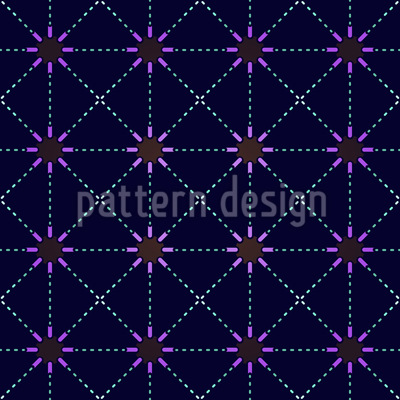 From Star To Star Seamless Pattern