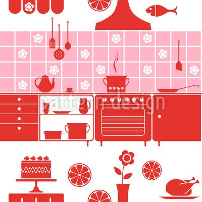 Diese Küche Macht Freude Rapportmuster