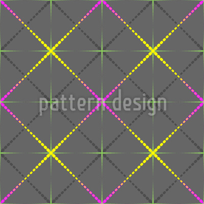 Sparkling Diamonds Pattern Design