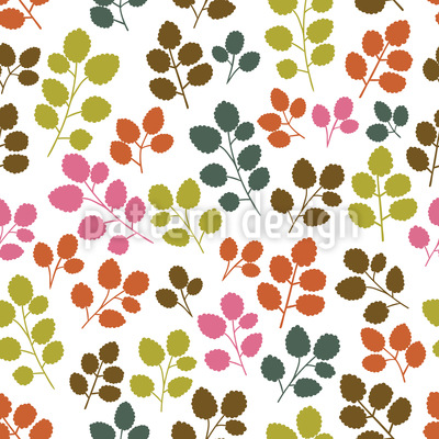 Gorgeous Leaves Design Pattern