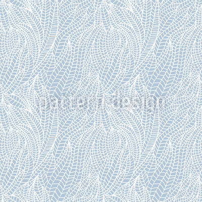 Frozen Leaves Vector Pattern