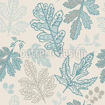 The Soul Of The Leaves Pattern Design