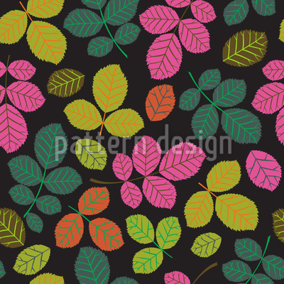 Beech Party Repeat Pattern