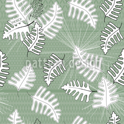 Green Moss Seamless Pattern
