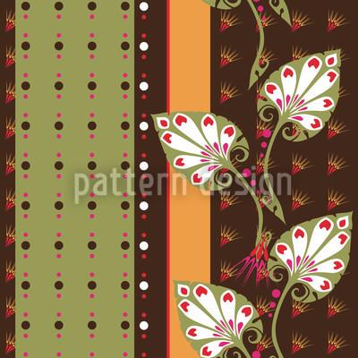 Petruschka Nahtloses Vektor Muster