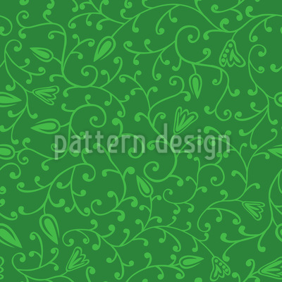 Floral Spring Seamless Pattern