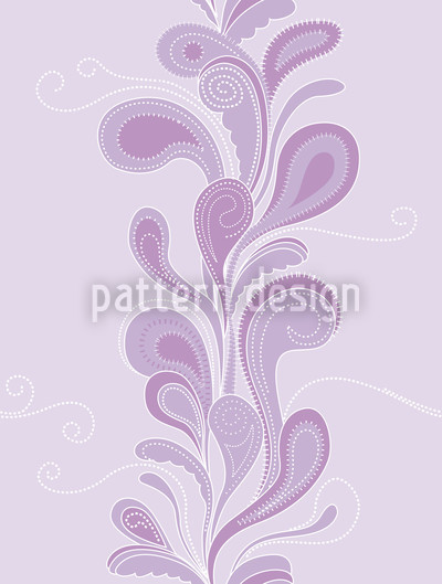 Lilaflora Paisley Repeat Pattern