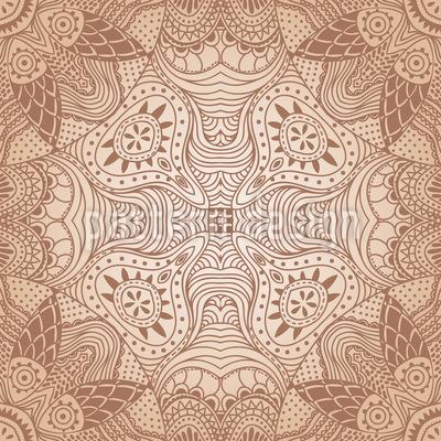 The Secret Of The Desert Pattern Design