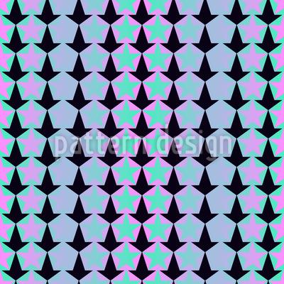 Verblassende Sterne Nahtloses Muster