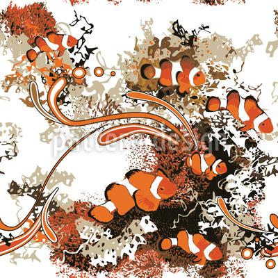 Clownfish Pattern Design