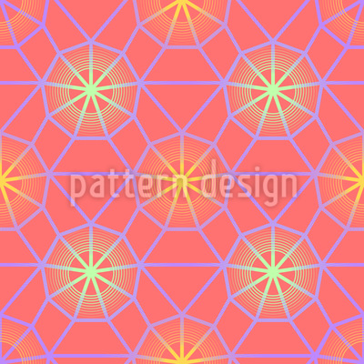 Soft Web Glowing Vector Pattern