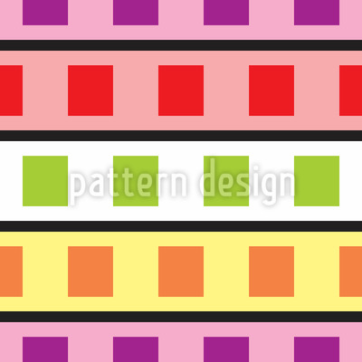 Technicolor Geometry Repeating Pattern