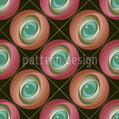 Abstrakte Kreise Vektor Ornament