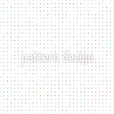 Buntes Polkasquare Muster Design