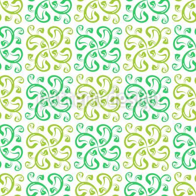 Floral Swirl Pattern Design