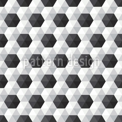 Hexagon Honeycomb Seamless Pattern