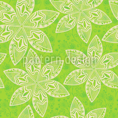 Flower Cartoon Pattern Design