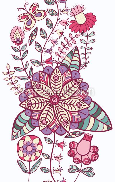 Blumen Himmelwärts  Rapportmuster