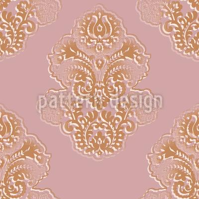 Silhouette Barock Vektor Muster