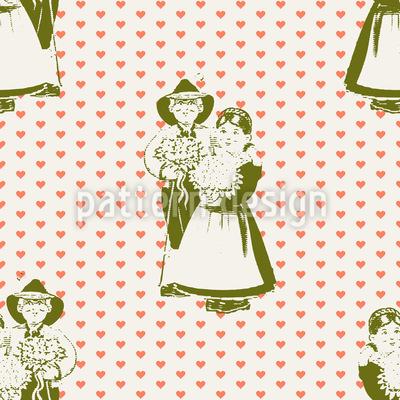 Tyrolean Lover Pattern Design