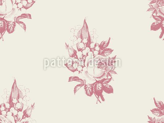 Maiglöckchen Und Rose Designmuster