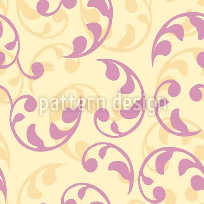 Foliage Renaissance Design Pattern